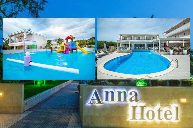 Anna Hotel 3 Халкидики Кассандра Пефкохори