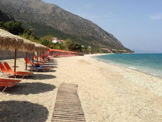 Пляж Порос Элунда