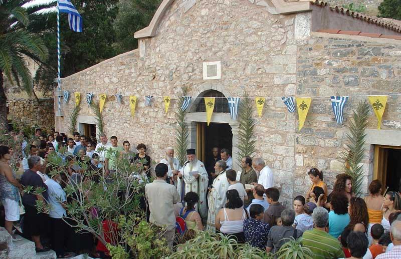 Церковь Спиналонга Крит