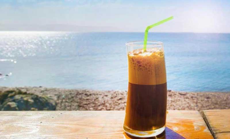 Греческий кофе Фраппе