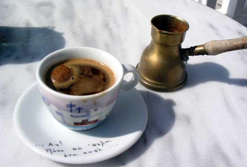 Традиционный греческий кофе