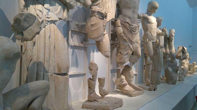 Восточный фронтон Храма Зевса в Олимпии