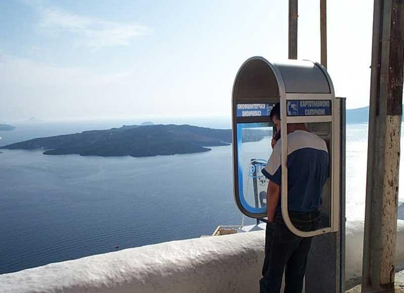 Как позвонить из Греции в Россию