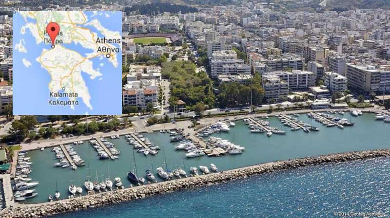 Город Патры Греция