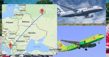 Сколько лететь до Родоса из Москвы