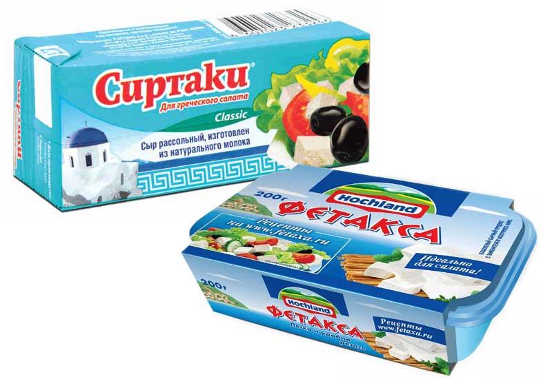Сыр Сиртаки и Фетакса