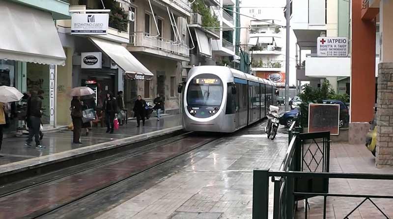 Трамваи в Афинах