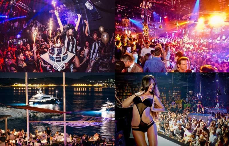 Клубы и ночная жизнь в Афинах
