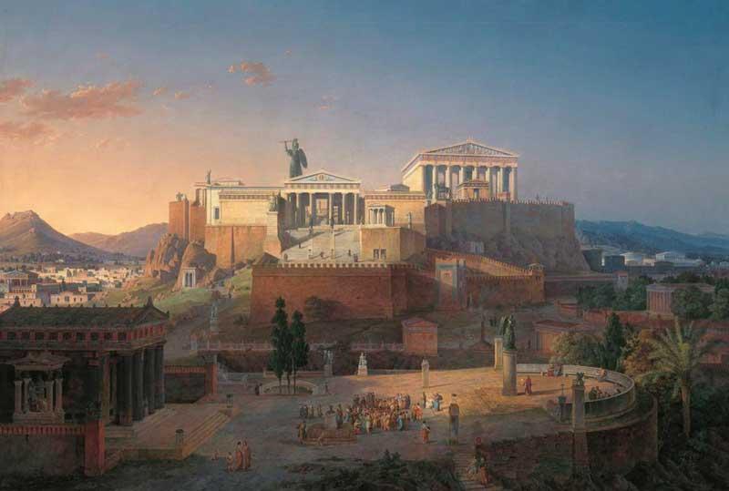 История античных Афин