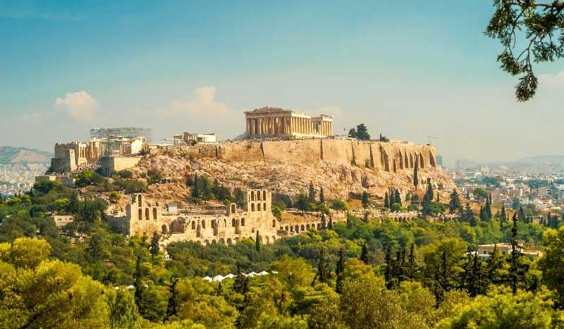 Афины - прекрасный город для отдыха и развлечений