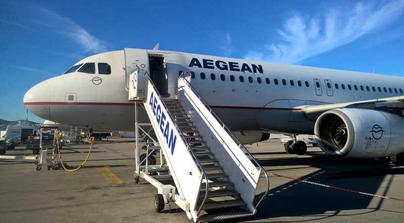 Из Афин в Салоники на самолете