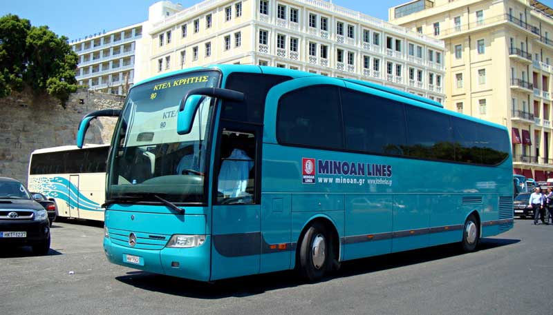 Автобус Афины-Салоники