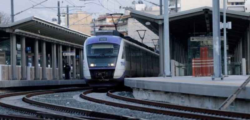 Поезд Афины Салоники