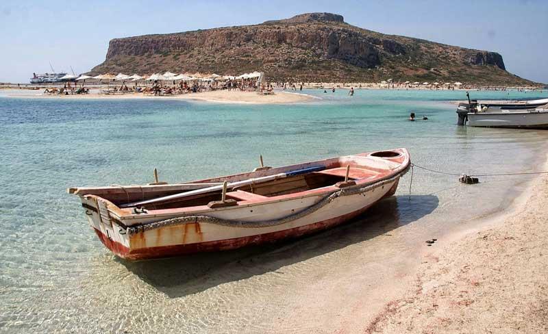 Бухта Балос Крит