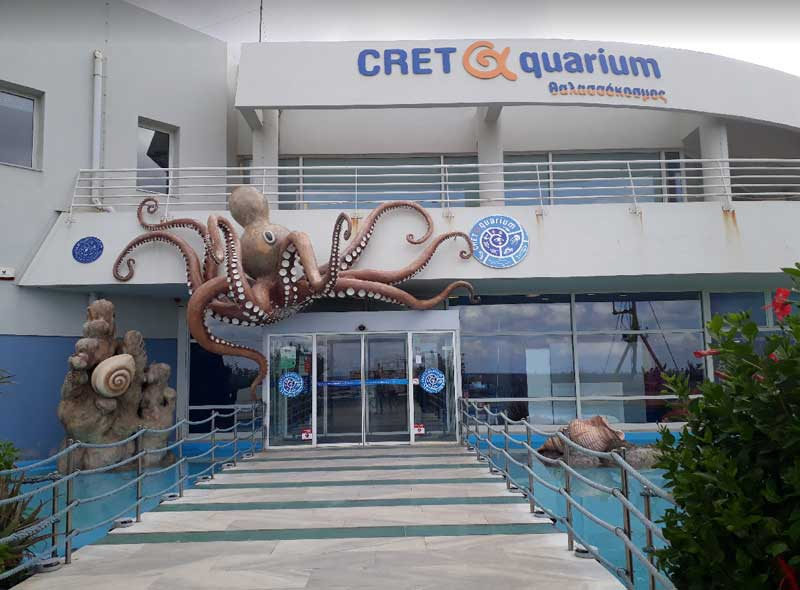 Океанариум Крита