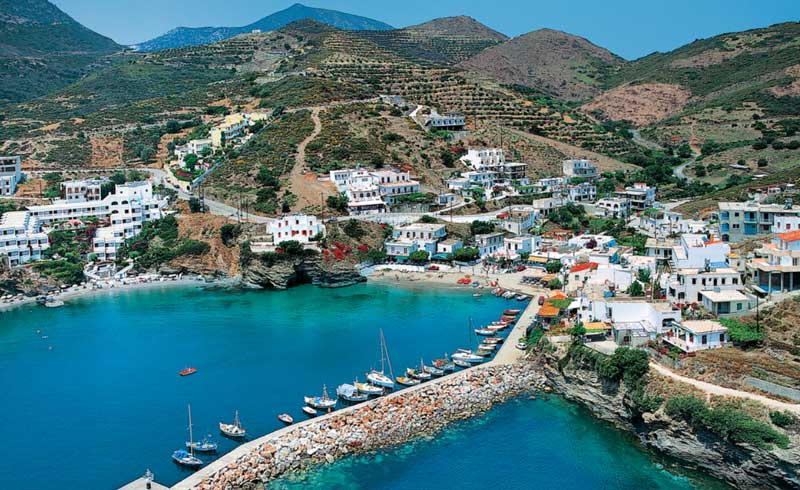 Рыбацкая деревня Бали Крит
