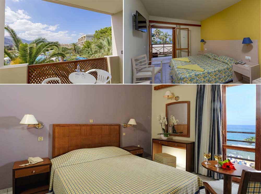 Номера отеля Dessole Malia Beach Hotel