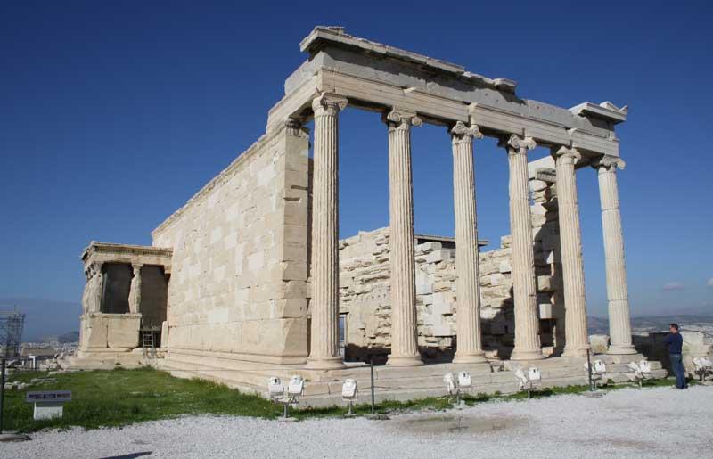 Храм Эрехтейон Греция