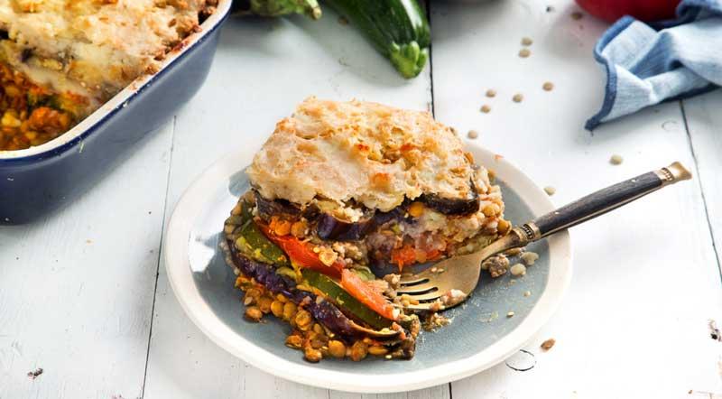 Вегетарианская постная мусака по гречески
