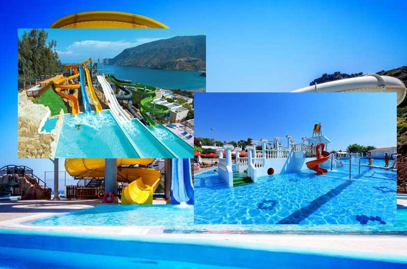 отели в Греции с аквапарком
