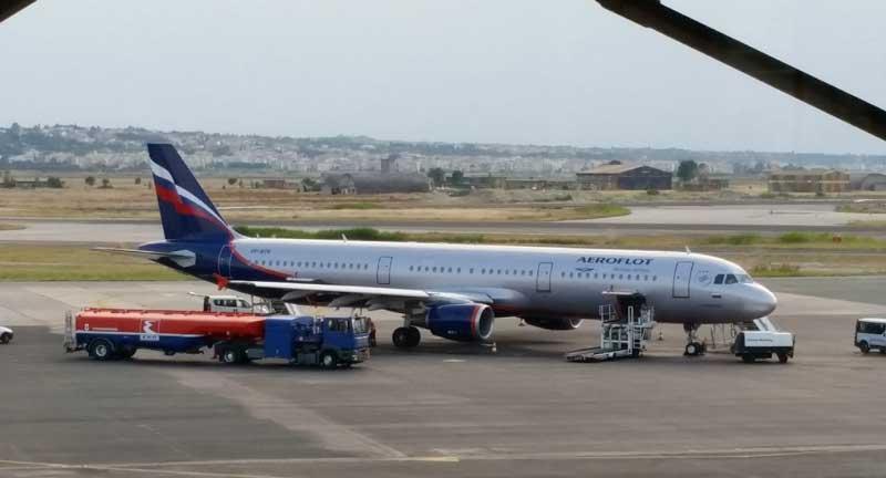 Аэрофлот Аэропорт Салоники