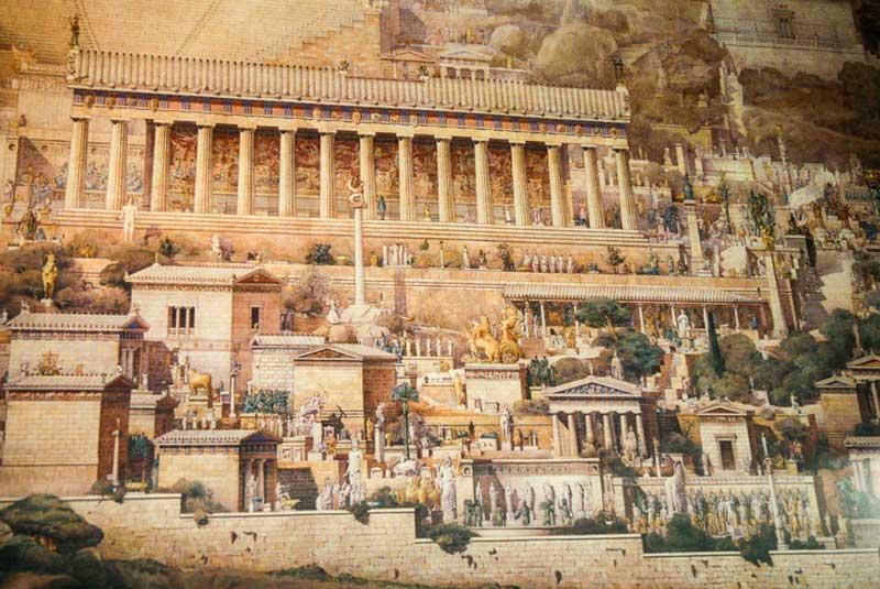 История Храма Апполона в Дельфах