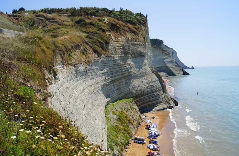 Пляжи Керкира