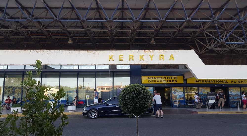 Аэропорт Керкира Греция