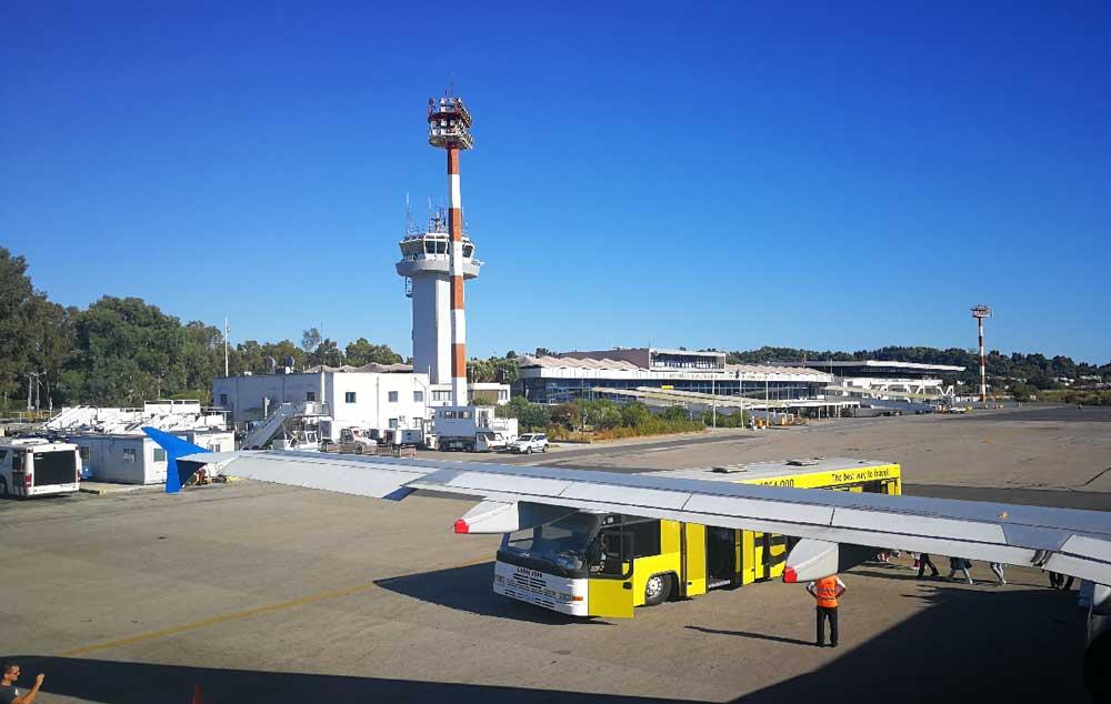 Терминалы аэропорт Керкира