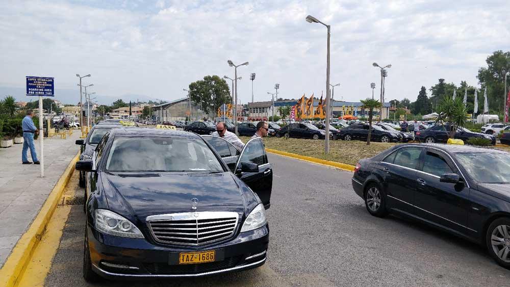 Такси из аэропорта Корфу