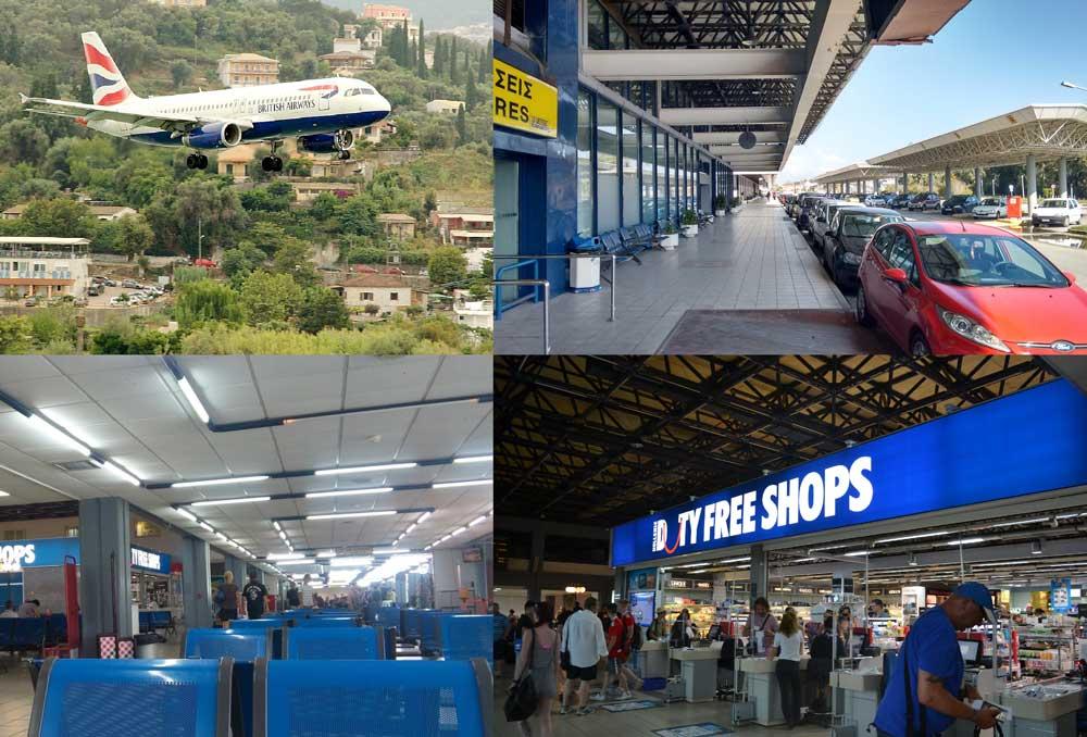 Адрес и контакты аэропорта Корфу