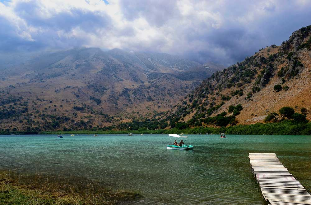 Крит озеро Курнас