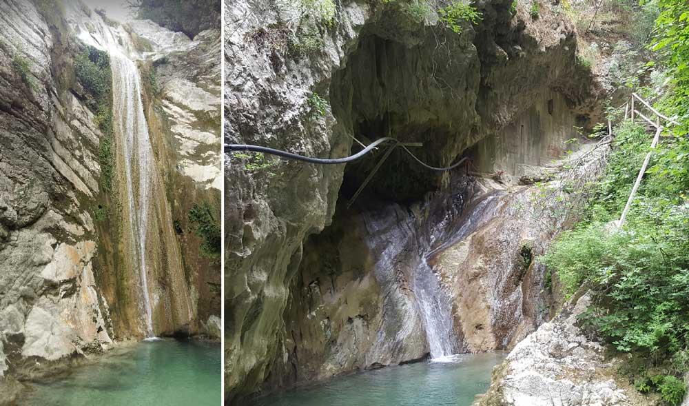 Водопад Димосари
