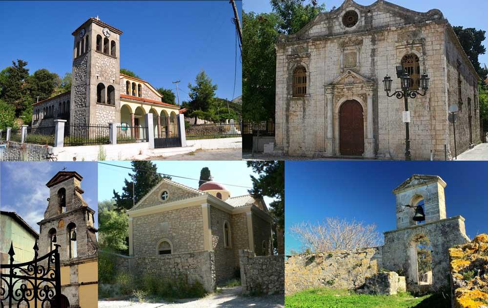 Церкви и храмы Лефкада