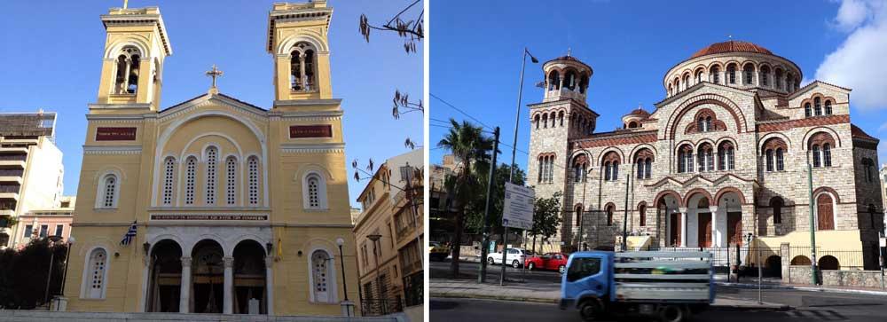 Церкви Пирея