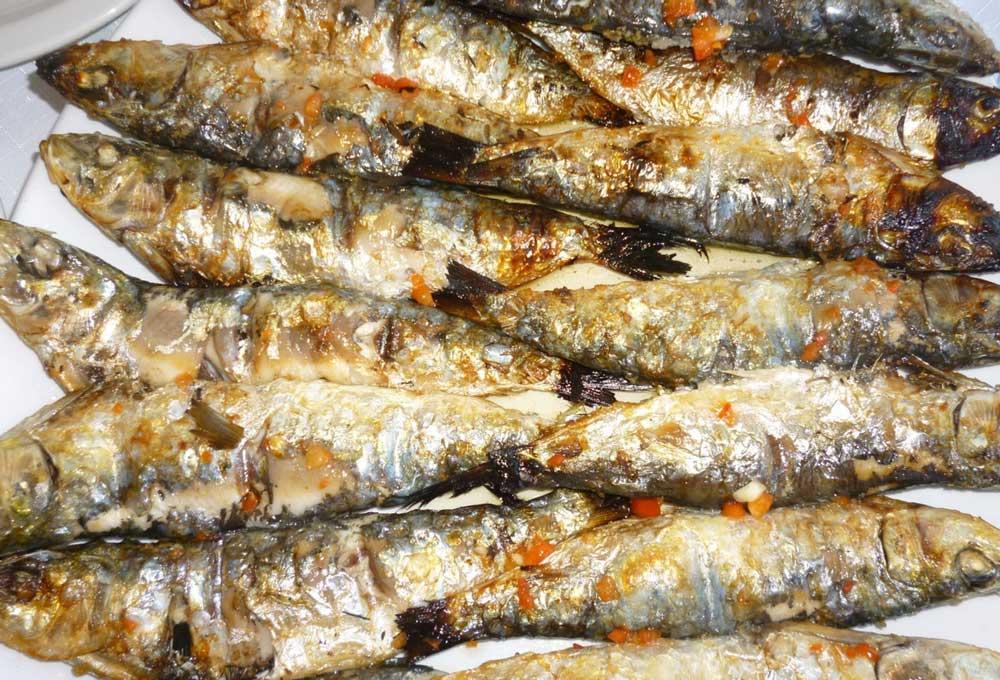 Рыба по-гречески под маринадом