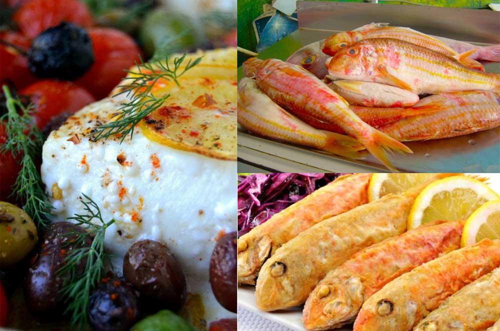 Рыба по гречески