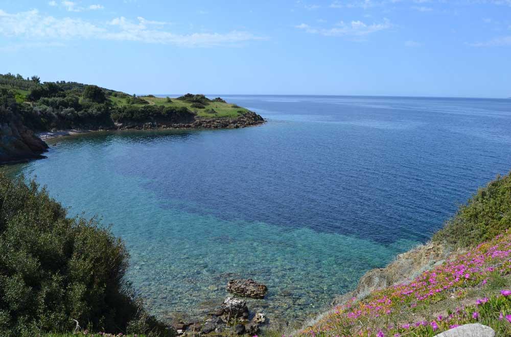 Ситония: карта, пляжи, достопримечательности и отели курортного полуострова