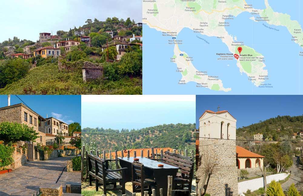 Деревня Парфенонас