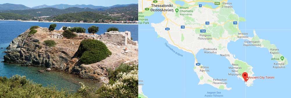 Развалины крепости в Торони