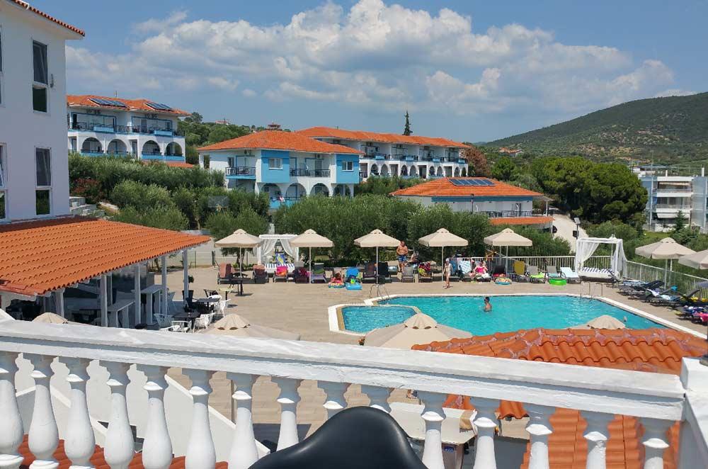 Отель Sonia Village Hotel 4 звезды Халкидики Ситония Геракини