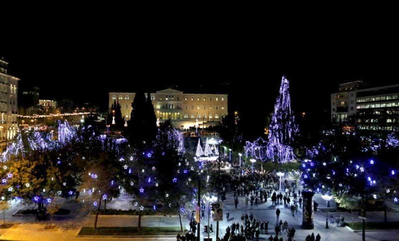 Афины в Декабре