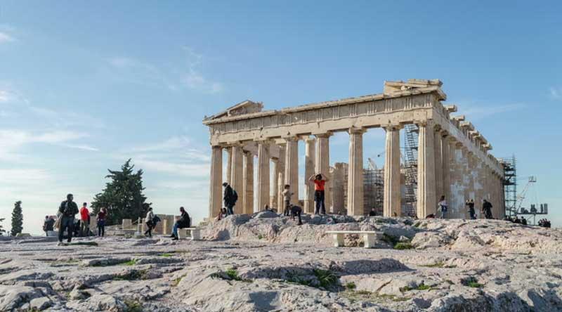 Афины – главные достопримечательности зимой