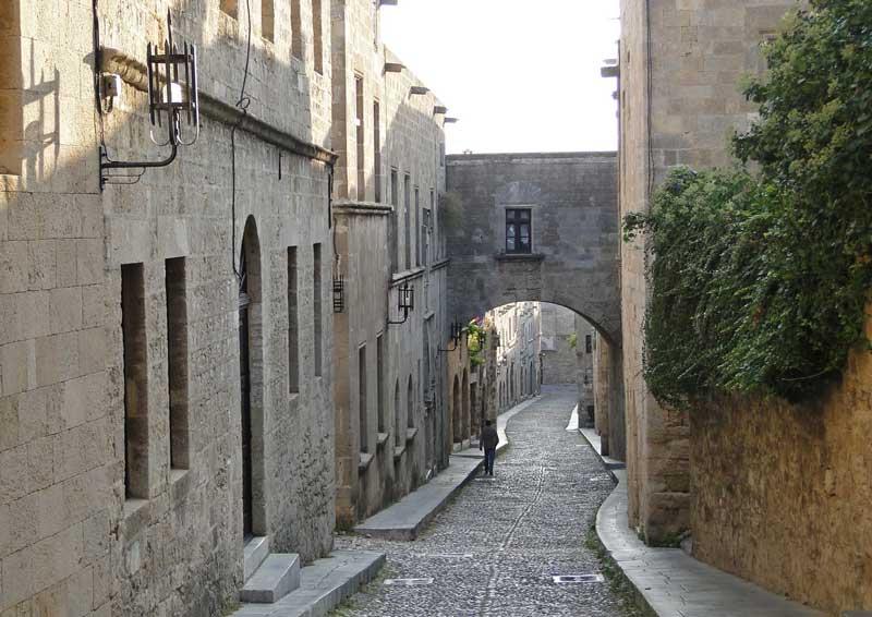 Улица Рыцарей Родос