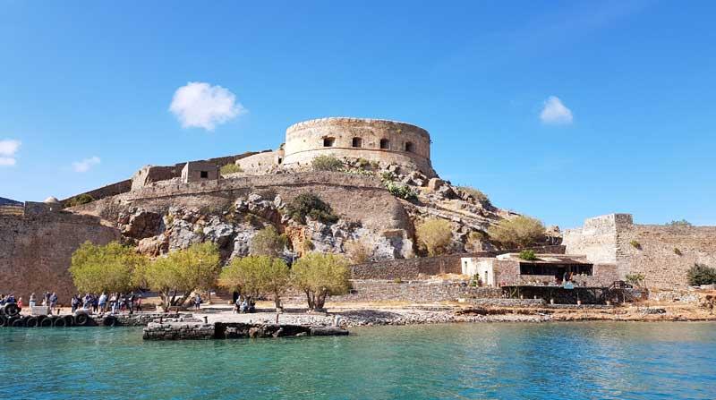 Крепость на острове Спиналонга