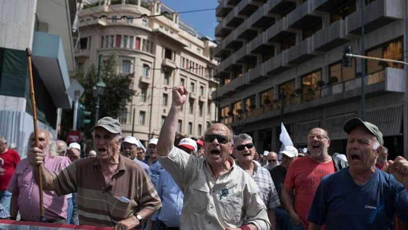 Пенсии в Греции: размер