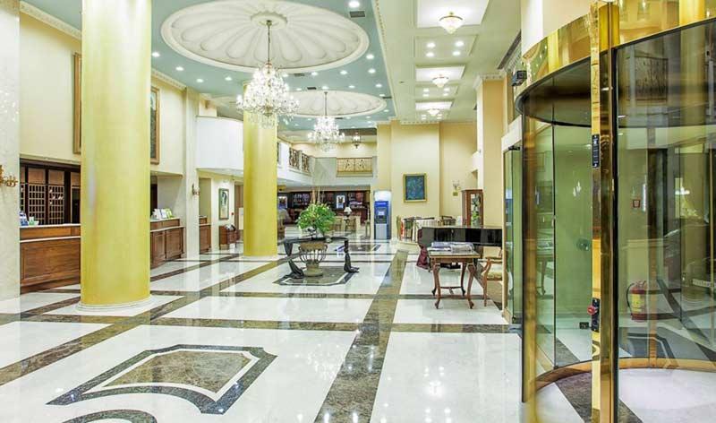 Ресепшен Grand Hotel Palace 5 Салоники