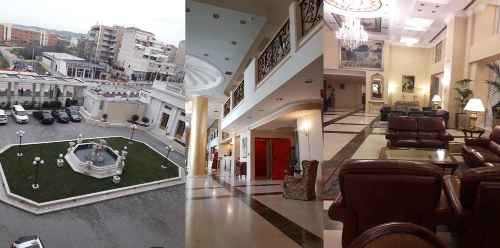 Гранд Отель Палас 5 звезд Салоники