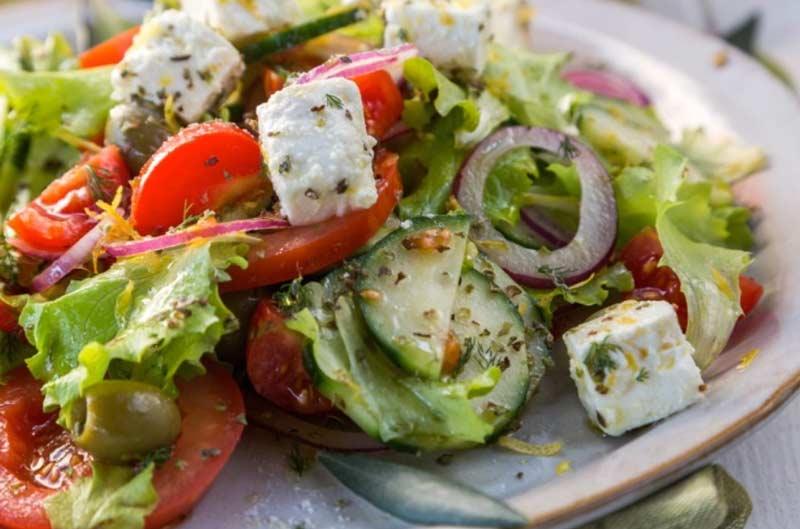 История Греческого салата