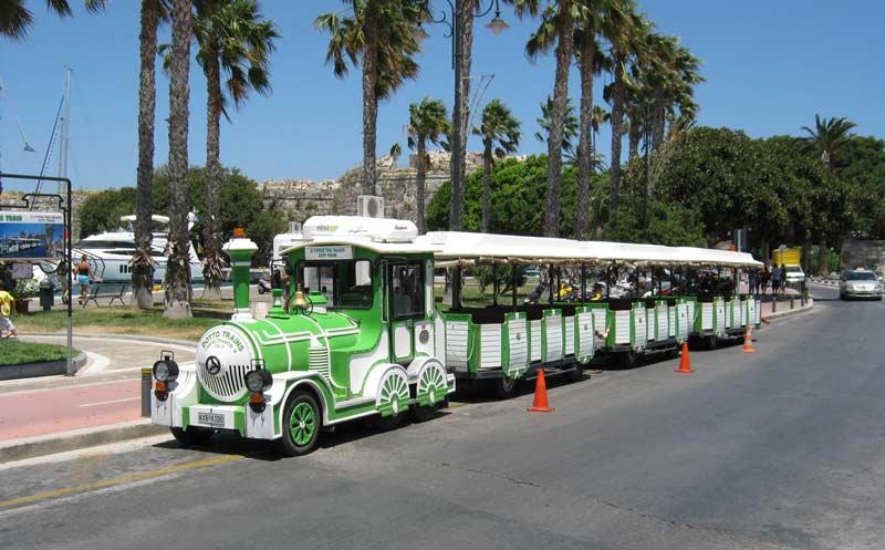 Туристические паровозики Коса